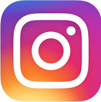 Instagram logo and website